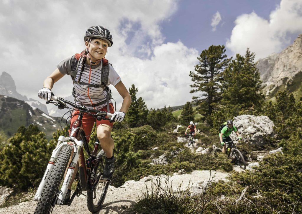 mtb dolomiti ciclismo estate vacanza