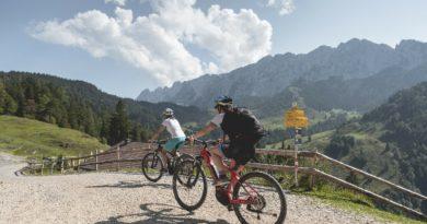 Mtb in Tirolo: nuovo tour ciclistico intorno alla splendida catena montuosa del Kaisergebirge